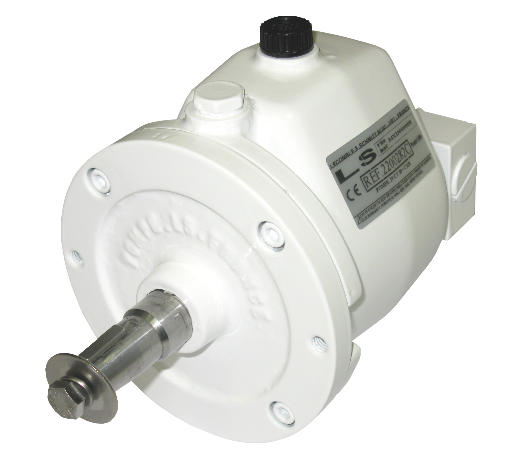 Pumps 29/40 CT 30 with lock valve