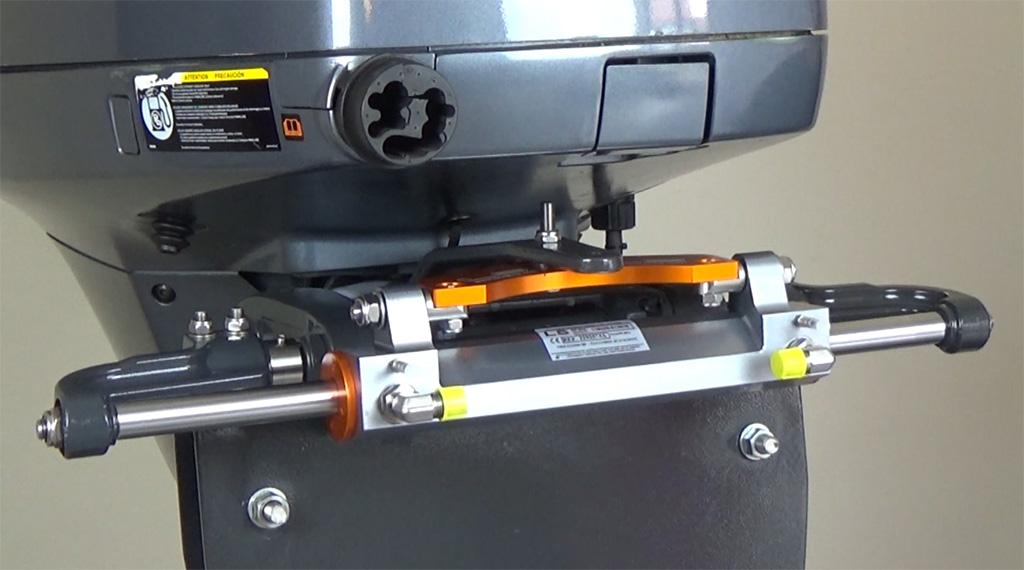 Montage du vérin LS VHM EX 3500 HP