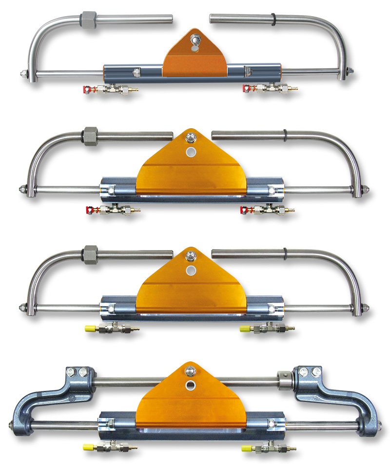 Nouvelles directions hydrauliques hors-bord