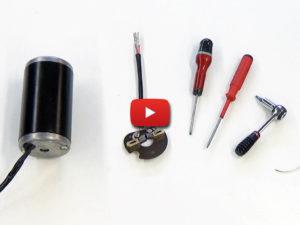 Motor brush-holder