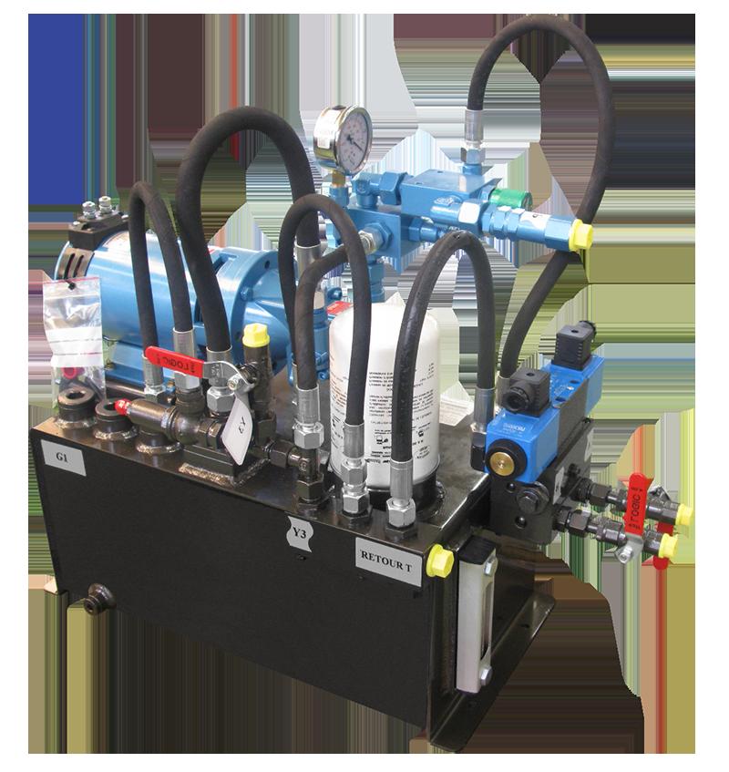 2203364_Hydraulic Electro Unit HF 27 l.-230V