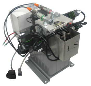 2203841-power pack unit 4.5 l/mn12 V