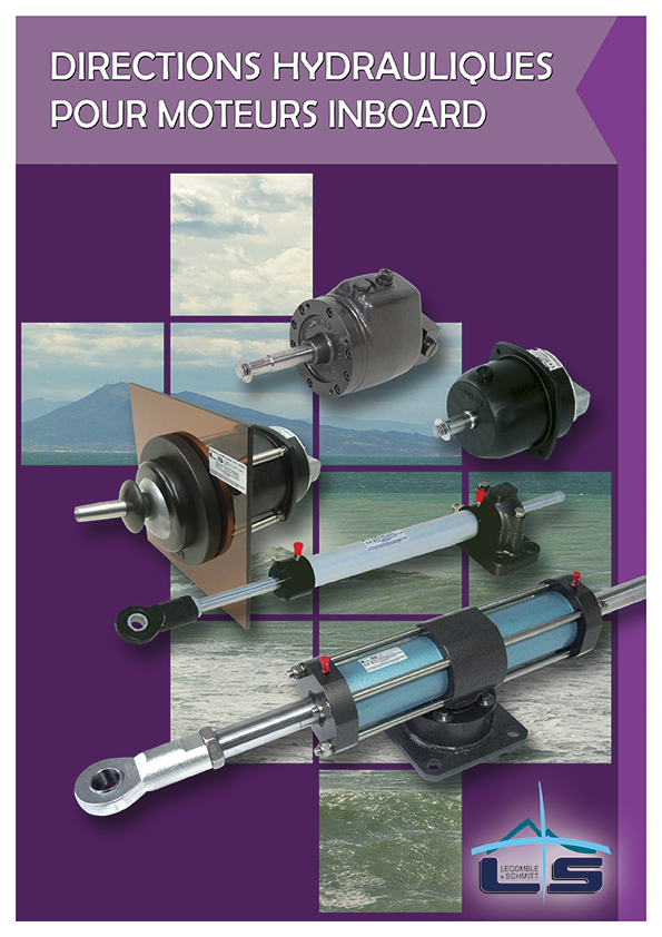 Catalogue Hydraulic Steering Systems for Inboard Motor Boat