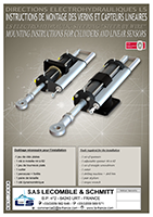 Mounting Instructions for Cylinders and Linear Sensors